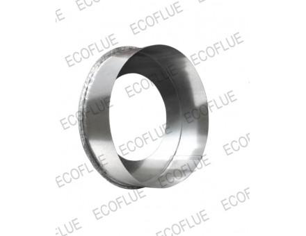 Заглушка приемной трубы D 230х130-150