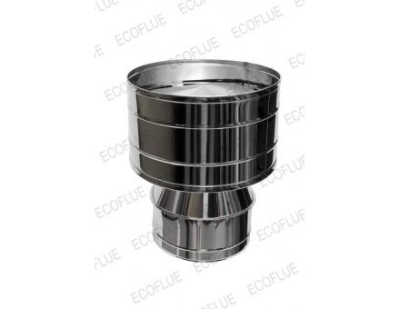 Оголовок дефлектор D 250х130-150